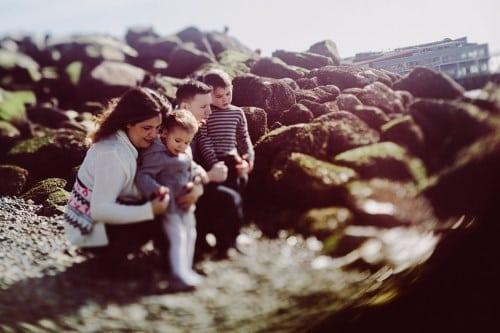 Sculpture Park Family Photos