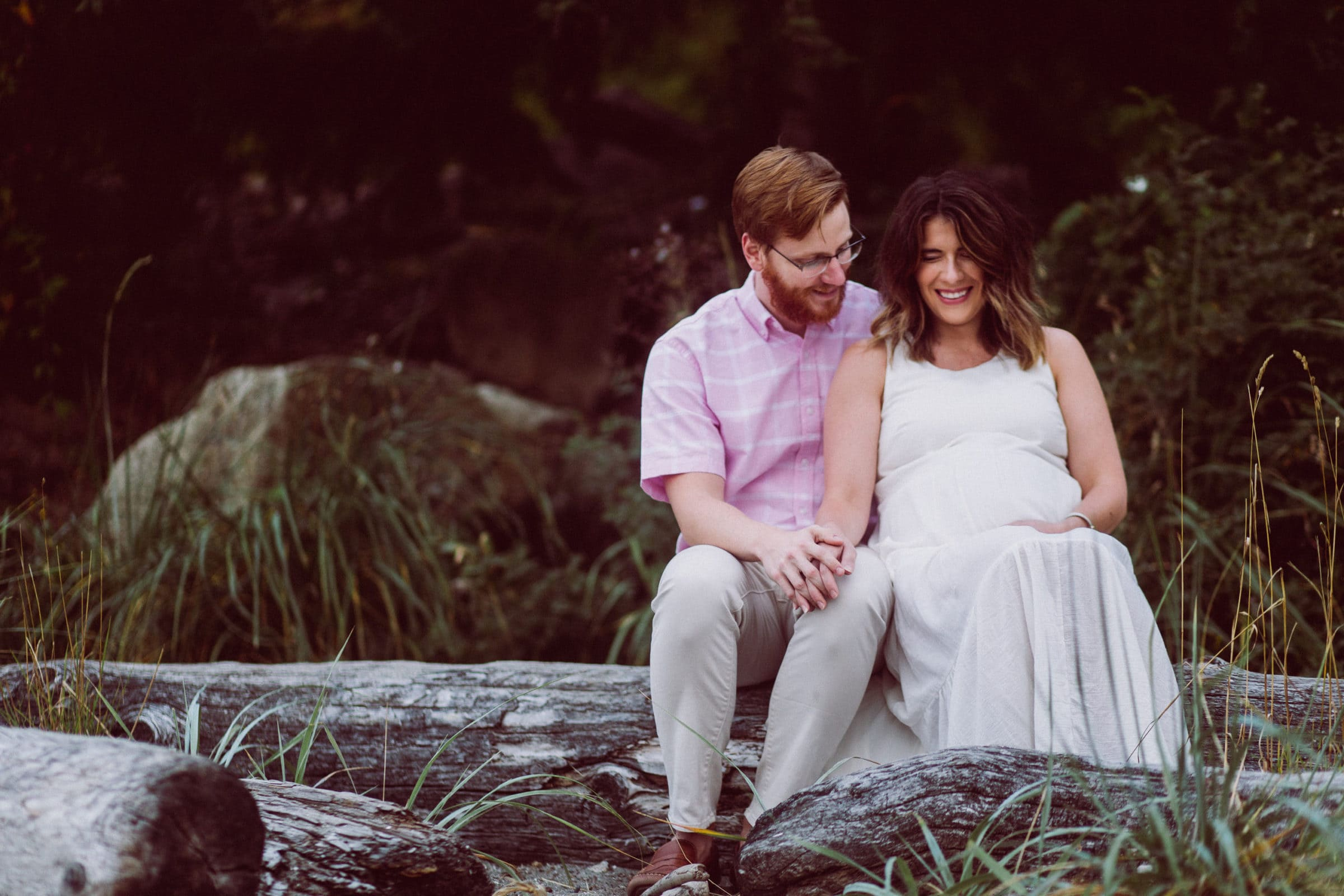 Outdoor Maternity Photos: Carkeek Park